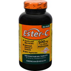American Health - Ester-c With Citrus Bioflavonoids - 500 Mg - 450 Vegetarian Tablets