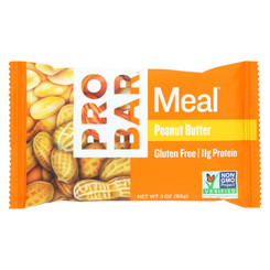 Probar Organic Peanut Butter Bar - Case Of 12 - 3 Oz