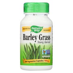 Nature's Way - Barley Grass - Young Harvest - 100 Capsules