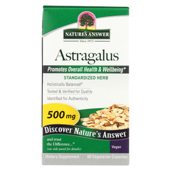 Nature's Answer - Astragalus Root Extract - 60 Vegetarian Capsules