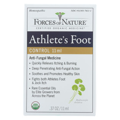 Forces Of Nature - Organic Athlete's Foot And Jock Itch Control - 11 Ml