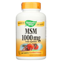 Nature's Way - Msm - 1000 Mg - 200 Tablets