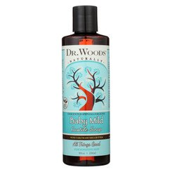 Dr. Woods Shea Vision Pure Castile Soap Baby Mild With Organic Shea Butter - 8 Fl Oz
