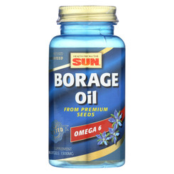 Health From The Sun Borage Oil 300 - 1300 Mg - 30 Softgels