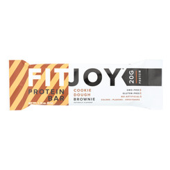 Fitjoy - Bar Protn Cookie Dough Brn - Case Of 12 - 2.18 Oz