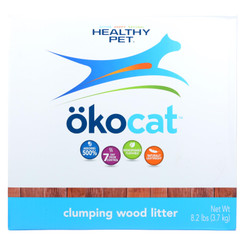 Healthy Pet Okocat Clumping Wood Litter - Case Of 1 - 8.2 Lb
