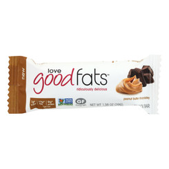 Love Good Fats - Bar Pb Chocolate - Case Of 12 - 1.38 Oz