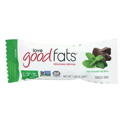 Love Good Fats - Bar Mint Chocolate Chip - Case Of 12 - 1.38 Oz