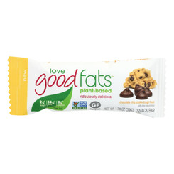 Love Good Fats - Bar Chocolate Chip Cookie Dgh - Case Of 12 - 1.38 Oz