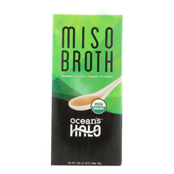 Ocean's Halo Broth, Miso  - Case Of 6 - 32 Fz