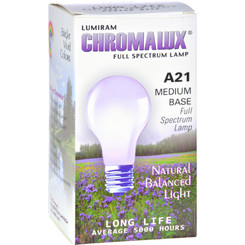 Chromalux - Light Bulb Std Clear - 1 Each - 1 Ct