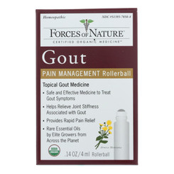 Forces Of Nature - Gout Pain Management - 1 Each - 4 Ml