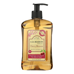 A La Maison - French Liquid Soap Cherry Blossom - 1 Each - 16.9 Fz