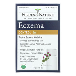 Forces Of Nature - Eczema Control - 1 Each - 5 Ml