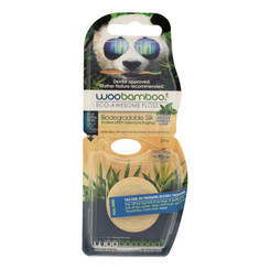 Woobamboo! Mint Dental Floss  - Case Of 6 - Ct
