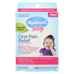 Hylands Homeopathic - Baby Oral Pain Relief - 1 Each - 125 Tab