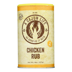 A Cajun Life - Rub Chicken - Case Of 6 - 8 Oz