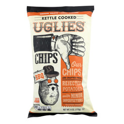 Uglies - Pot Chips Bbq Kettle - Case Of 12 - 6 Oz