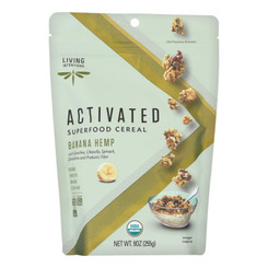 Living Intentions Activated Superfood Cereal  - Case Of 6 - 9 Oz - 2007185