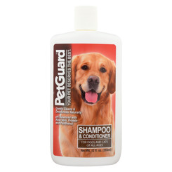 Petguard Cat & Dog Shampoo & Conditioner  - 1 Each - 12 Fz