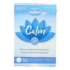 Hylands Homeopathic - Calm Tablets - 1 Each - 50 Tab
