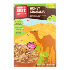Mom's Best Naturals - Cereal Honey Graham - Case Of 14 - 17.5 Oz