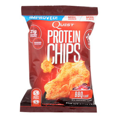 Quest Bbq Protein Chips  - Case Of 8 - 1.1 Oz
