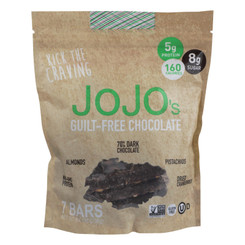 Jojo's Chocolate Bark Bars  - Case Of 6 - 8.4 Oz