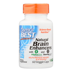 Doctor's Best - Brain Enhancer Natural - 1 Each-60 Vcap