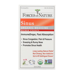 Forces Of Nature - Sinus Drp Max Immune - 1 Each - 10 Ml