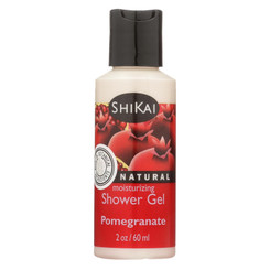 Shikai Products Shower Gel - Pomegranate Trial Size - 2 Oz - Case Of 12