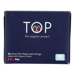Top The Organic Project - Pads Day Ult Thn Wngs - 1 Each 1-10 Ct