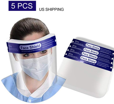 Face Shields 5 Pack