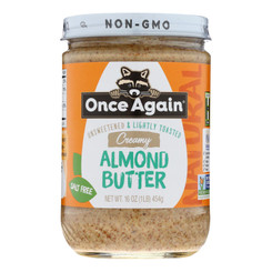 Once Again - Almond Butter Smooth - Case Of 6-16 Oz