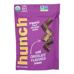 Hunch - Wafer Bites Chocolate - Case Of 6-3.5 Oz