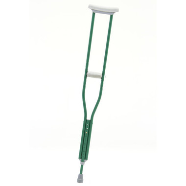 Emerald Green Designer Color Crutches from CastCoverz!