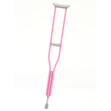 Designer Color Crutches from CastCoverz! in Bubblegum Pink