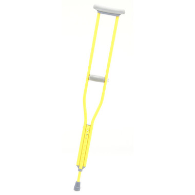 Designer Color Crutches from CastCoverz! in Sunshine Yellow