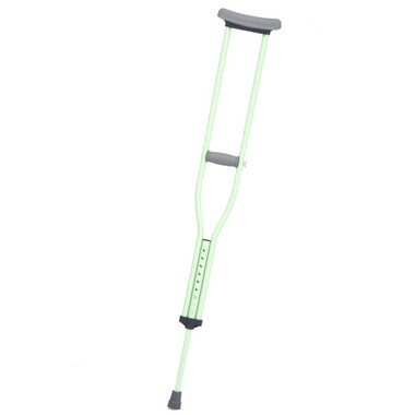 Designer Color Crutches from CastCoverz! in Mint Green