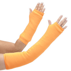 You'll throw caution to the wind in our long and short arm cast cover in bold neon orange.