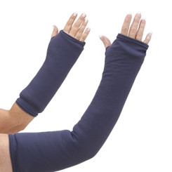 A superior solid gray arm cast cover perfect for the boardroom. Available in long and short arm styles.
