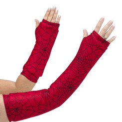 Can you say Spiderman? Great arm cast cover for the super hero enthusiast! One of our most popular designs for young (and old!).  Available in long and short arm styles.