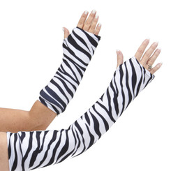 A classic designer animal print, Zebra, is a great arm cast cover wardrobe accessory! Available in long and short arm styles.