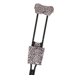 Standard Print Crutchwear - Blushing Cheetah Girl