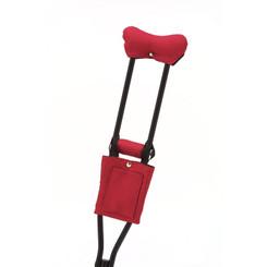 Standard Print Crutchwear - Rarin' To Go Red