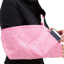 Seeing Spots Pink with optional Berry Pink Trim and Cell Phone pocket.