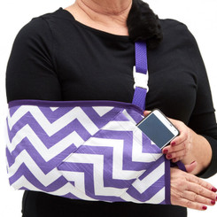 CastCoverz! Slingz! - Purple Chevron