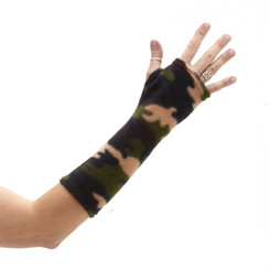 CastCoverz! Sleeperz! for Arms - Camo Green Fleece