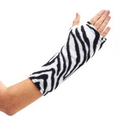 CastCoverz! Sleeperz! for Arms - Zebra Fleece