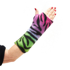 CastCoverz! Sleeperz! for Arms - Zebra Rainbow